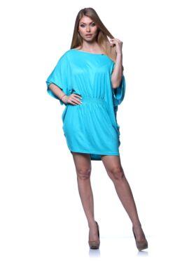 Mini ruha - Turquoise Blue