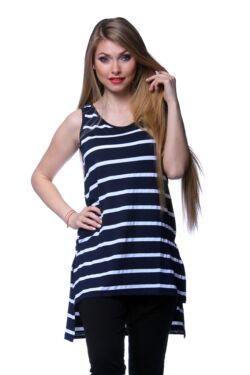 A-line Stripe Tunic Top