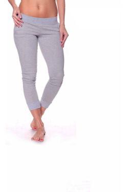 Dupla cipzáros,zsebes nadrág - Melange Grey