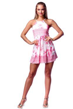 Mini ruha - Quartz Rose Floral Print