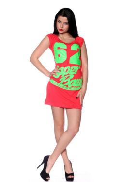 Tunika - Coral Neon Green