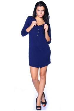 Jersey rövid ruha - Dark Blue