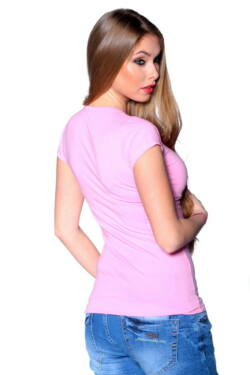 Basic T-shirt Light Pink
