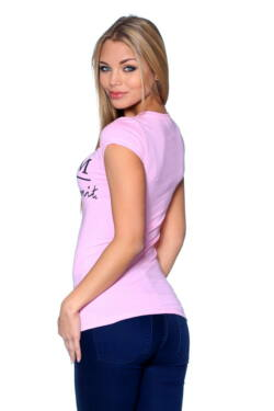 Graphic T-shirt Light Pink