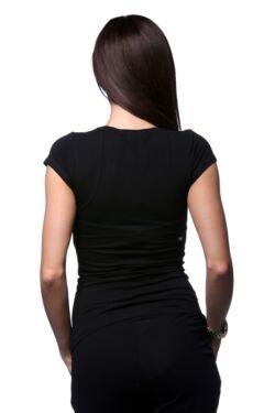 Nyomott mintás póló - Black