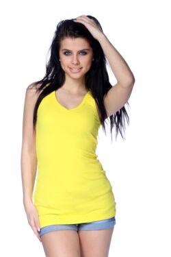 Ujjatlan felső - Yellow