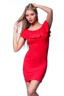 Fodros ruha - Red