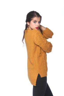 Kábel Kötött pulóver