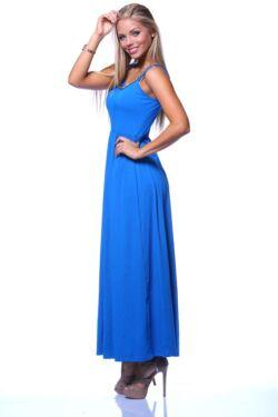 Lánc nyakpántos ruha - Rolyal Blue