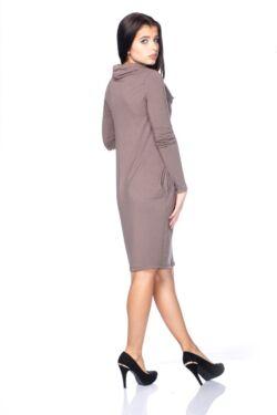 Kámzsa nyakú Mini ruha