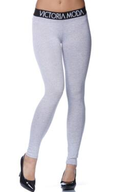 Legging - Melange Grey