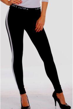 Legging - Black - White