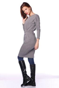 Midi ruha - Dark Grey