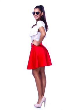 Mini szoknya - Red
