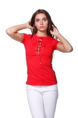 Bat sleeve Top loose fit (V1) - Red