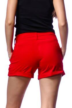 zsebes rövid nadrág - Red