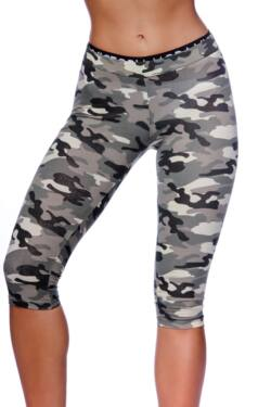 Terepmintás leggings - Khaki - Light