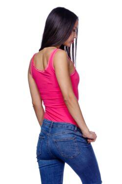 Lace Trim Sleeveless Bodysuit