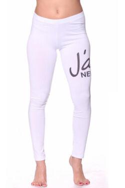 Leggings - White Black
