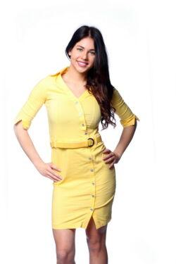 Aszimmetrikus ingruha - Yellow