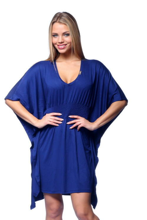 Kimono ujjú mini ruha - Dark Blue