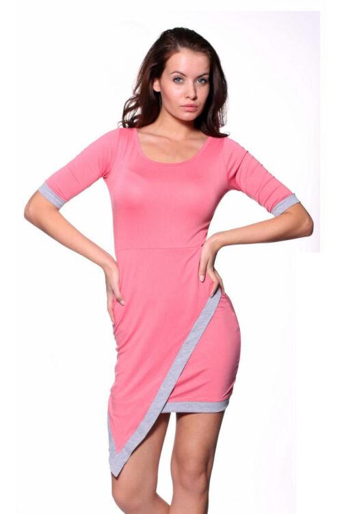 Mini ruha - Rose Melange Grey