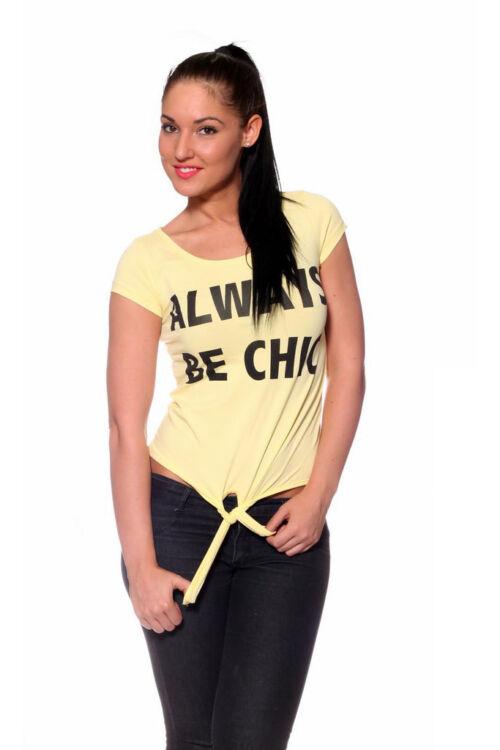 Póló - Yellow Black