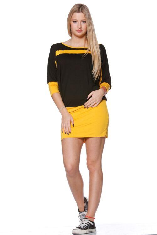 Laza felső - Yellow - Black