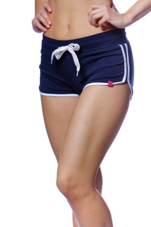 Basic rövid nadrág - Dark Blue - White
