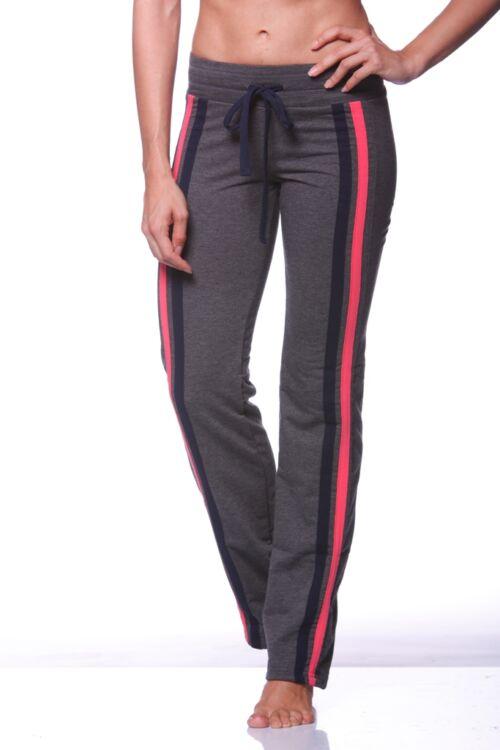 Szabadidő nadrág - Dark Grey - Dark Blue - Hot pink