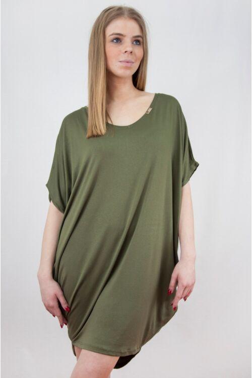 Laza mini ruha - Khaki