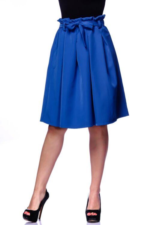 Magas derekú mini szoknya - Rolyal Blue