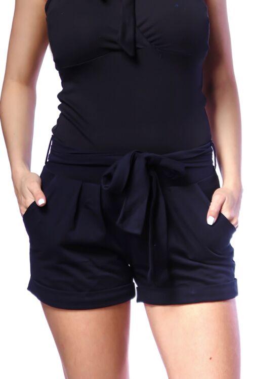 Megkötős, zsebes rövid nadrág - Dark Blue