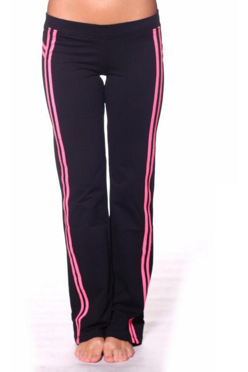 Szabadidő nadrág - Black Neon Pink