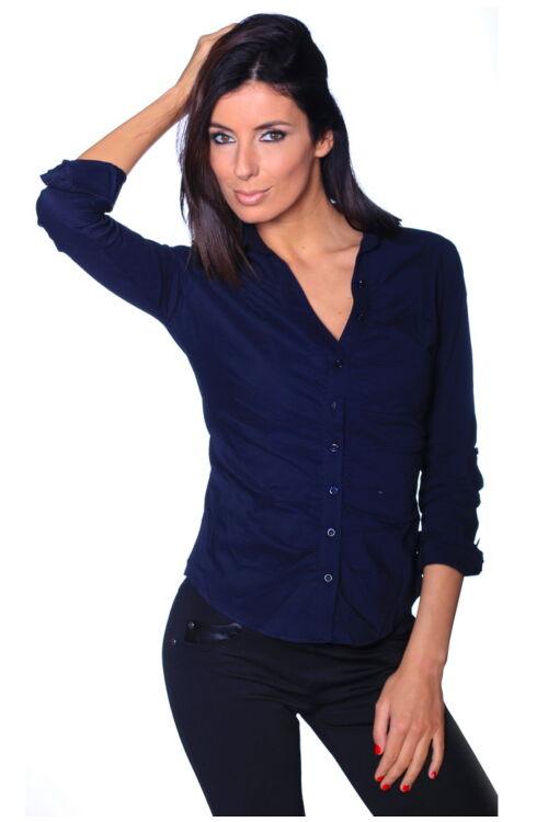 Elől húzott ing - Dark Blue