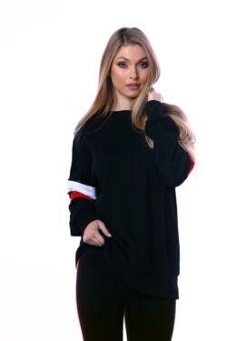 Lezser viselet szabadidő felső - Black