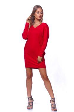 Bő szabású miniruha - Red