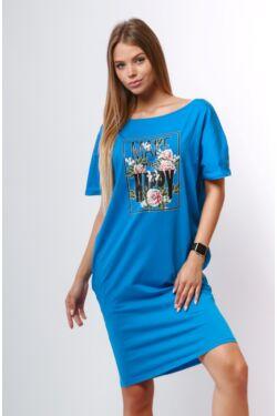 Oldal zsebes laza mini ruha