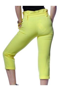 megkötős nadrág - Yellow