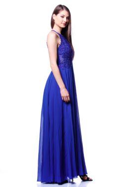 Maxi ruha - Rolyal Blue