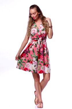 Virágmintás mini ruha - Quartz Rose Floral Print