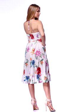 Virágmintás mini ruha