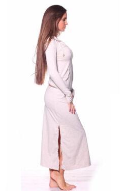 Kapucnis maxi ruha