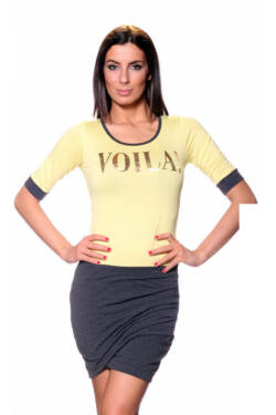Ruha - Yellow Mellange Dark Grey