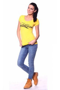 Rövid ujjú póló - Yellow