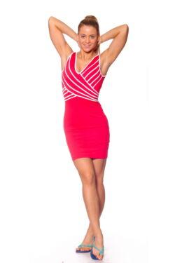 Maxi ruha - Red White