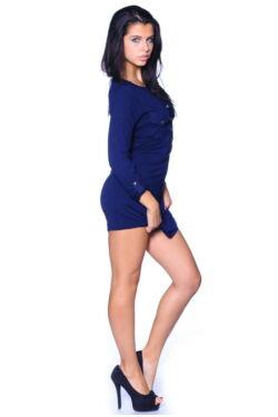Jersey rövid ruha