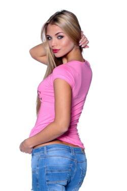 Graphic T-shirt Light Pink