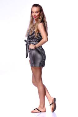 Csíkos overál - Black Stripe