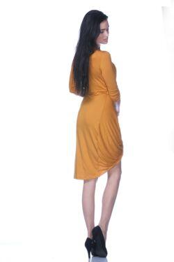 Csavart aljú mini ruha